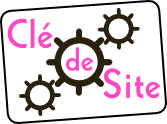 Clé de Site Communication Internet